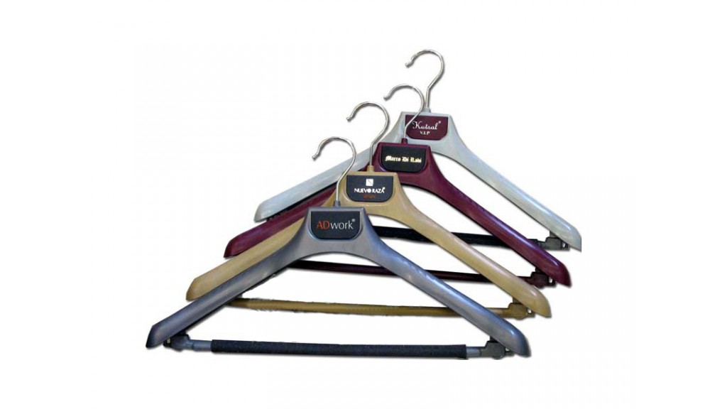 Colored Coat Hanger
