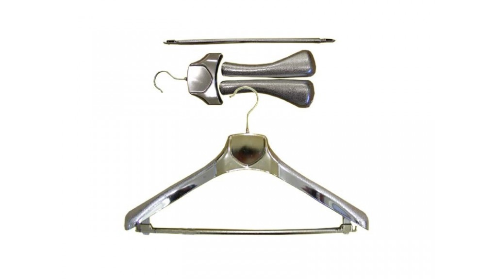 Chrome Coat Hanger