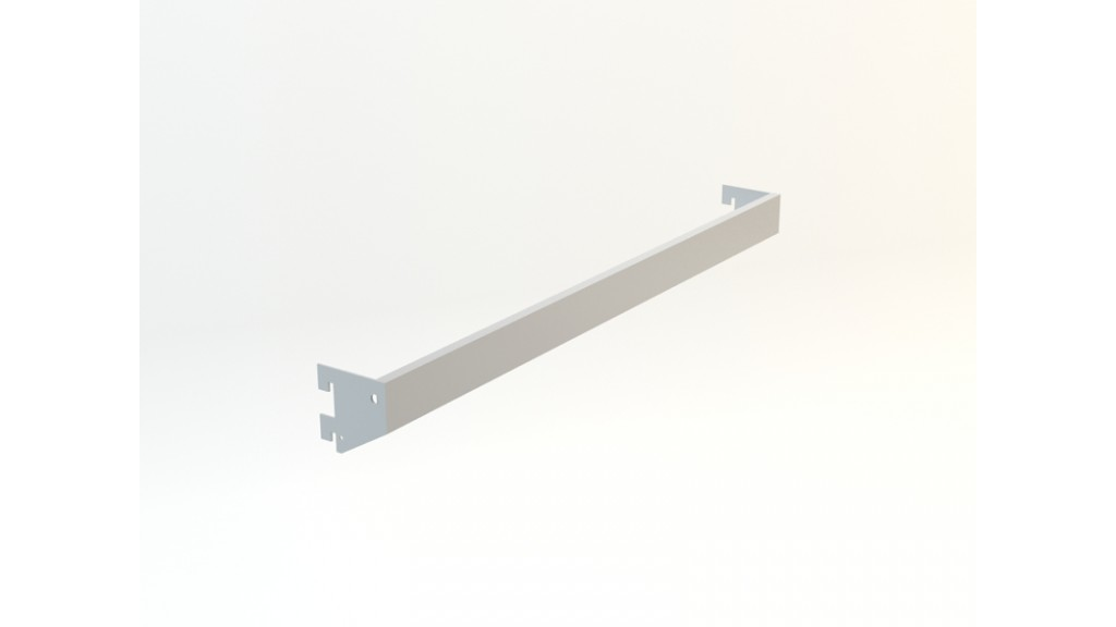 A Type Hanging Arm, 10x40mm interlaced, 70x30cm, Stainless