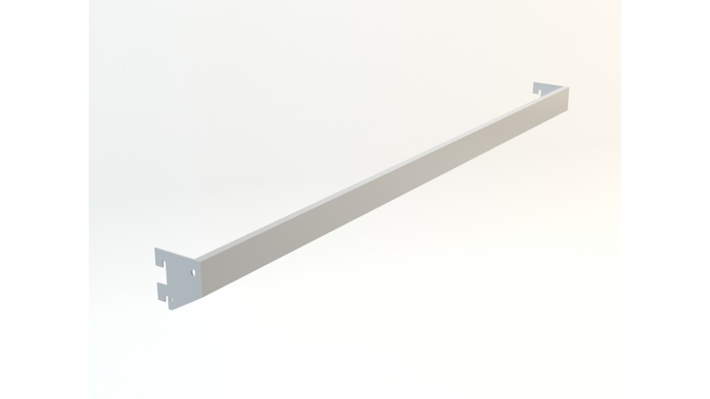 A Type Hanging Arm, 10x40mm interlaced, 90x30cm, Stainless