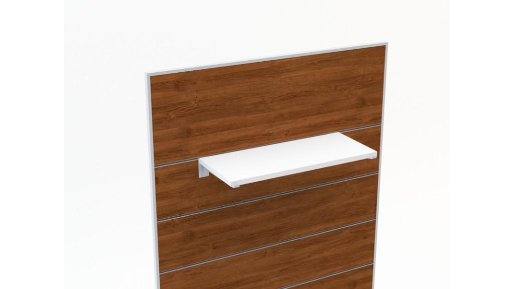 Shelf Holder, 25cm, Chrome