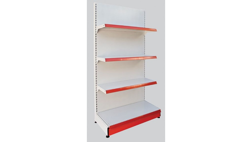 One-Way Central Section (Three Shelf)