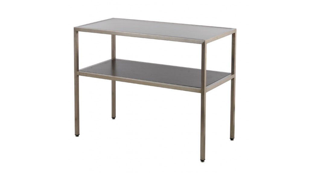 Stainless Middle Table - 2 Layer